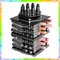 Cosméticos alta calidad de diseño de pantalla escaparate / maquillaje mac caja de almacenamiento organizador