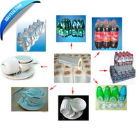 Hot sale Clear LDPE/HDPE/PE shrink film for outpacking