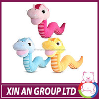 New Design! Magnetic floating toy animal ,yellow snake stuffed animal plush toy