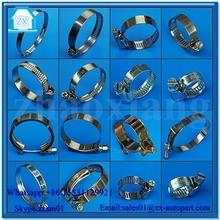 crimp hose clamps good quality manufacture&supplier&exporter