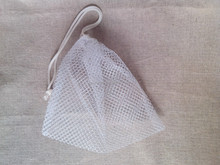 Low price low moq good quality Promotional nylone mesh drawstring bag