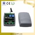 porta de carro de controle remoto, sistema de controle remoto 433.92 mhz para garagem porta opener yet402pc- v2.0