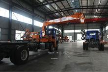 12 ton truck mounted crane SQ12S4 300Kn.m at 2.5 m crane truck high quality on sale truck crane