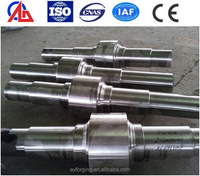 ASTM 1045 Steel Rollers Forged for Cold Rolling Machinery