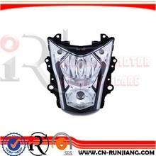 Racing Motorcycle Accessories Head Light Front Lamp Farol For Kawasaki Ninja ER 6N