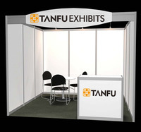 3x3 or 10x10 Trade Show or Expo Standard Exhibition Booth from TANFU