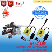 xencon hid kit H4 auto headlight, hid xenon lamp H4 single beam kit