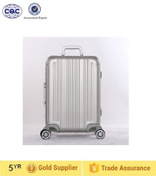flight case cabin size pure aluminum luggage trolley luggage, aluminum luggage, luggage bag