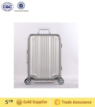 flight case cabin size pure aluminum luggage trolley luggage, aluminum luggage, luggage bag