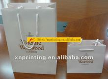 fair hot stamping paper bag with company logo