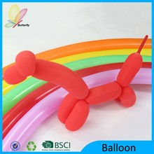 Butterfly 2015 Promotional China Birthday Party Items Colorful Latex Balloon Inflator