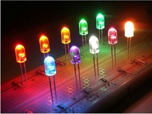 led diode 5 mm through hole led,dip led for round,straw hat,flat top etc
