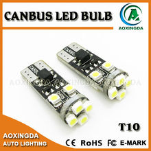 T10 8 LED canbus led bulb