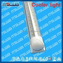 v shape 48inch LED lamp, defectives free replacement, Manufacturer Price, walking cooler light