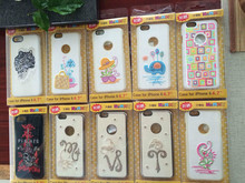 2015 embroidered cover fashin design highly quality material for mobile phone 6