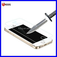 HD Clear Film tempered glass screen protector for iphone5
