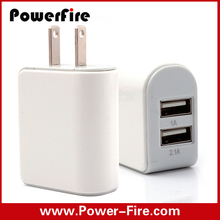 hot sale use for mobile phone Dual USB wall charger 5V 3.1A