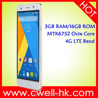 China brand original cheap LTE 4G network Octa core Android 5.0 Lollipop MTK 6752 Bluetooth 4.0 Elephone P7000 mobile phone