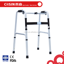 One button folding aluminum walking aid, walkers for disabled