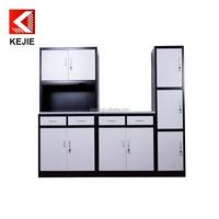 new design metal kitchen storage cupboard steel kitchen cupboard