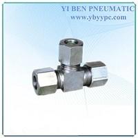 Copper tube fittings swagelok /male union hydraulic ferrule fitting