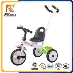 kids three cycle with handle baby tricycle stroller