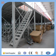 Good Performance Steel Structure Industrial Workshop with Crane and Mezzanine Floor