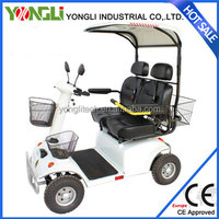 YONGLI white SCOOTER big wheel kick scooter for adults