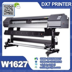 Indoor/outdoor High Precision Double 4 Colors C M Y Kwide format inkjet printer