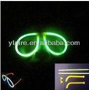fluorescent glow glasses