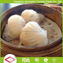 OEM Perforated Dim Sum Paper for Steamed Shrimp Dumplings