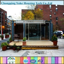 2015 China Green Fresh Design Container House/Prefab Conatienr House/Modern Container House