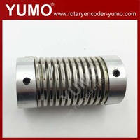 factory 10mm 8mm 27mm 6mm 15mm Flexible high torque Flexible flexible rubber coupling with flange for Encoder Stepping s