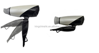2015 Quality foldable mini dc motor industrial hair blow dryer ac120-250v 1875w