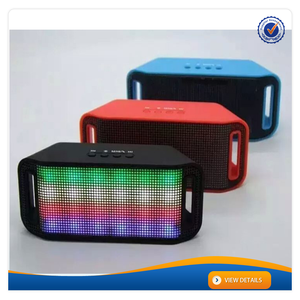 Aws1153 Super Bass Disco Ball LED Mini Bluetooth stéréo haut - parleur avec FM