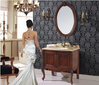 antique hand carved wood furniture stand bathroom vanities