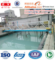 waste water treatment scraping mud machine