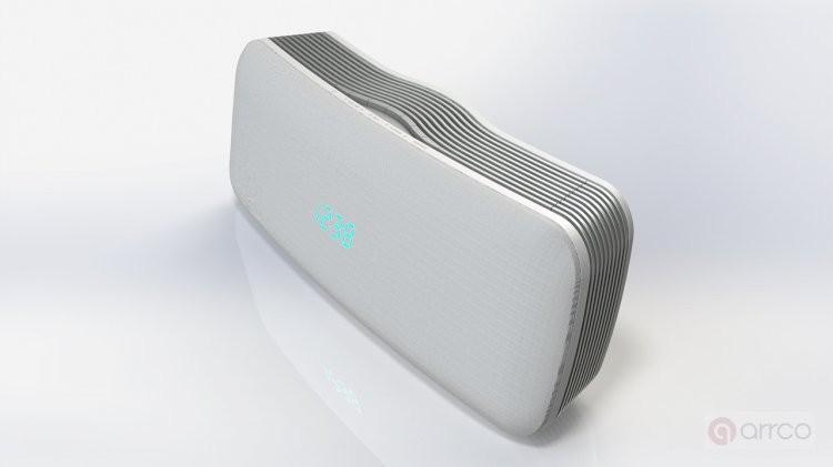 Arrco best private mold portable mini speaker with fm radio waterproof
