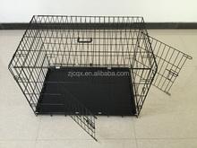 double door folding metal wire pet cage