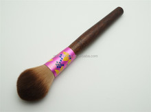 High Quality Facial Makeup Brush Tapered Cosmetic Blush Brush with Classic Brush Holder