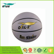 Custom made high quality PU basketball leather ball