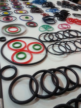 Silicone/Rubber O Ring grass green o ring