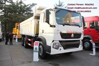 HOWO 340hp man diesel dump trucks in germany