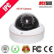 IR Onvif Indoor Dome CCTV Sony CCD Sensor IP Camera