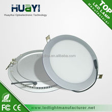 Big sale non-dimmable dimmable square and round led panel light 20W cut out 220mm 16w18W hole 200mm