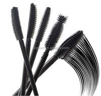 2015 New design mascara wand disposable silicon eyelash brush