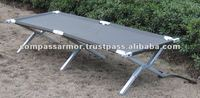 Folding Cot Military Bed Camping Camp Cots Heavy Duty Aluminum Army Bunk New