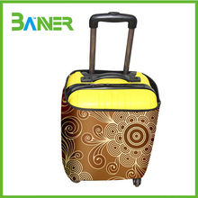 Promotional customized printed neoprene protective luggage cover