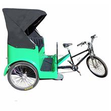 Three Wheel Tricycle Rickshaw Electric Pedicab