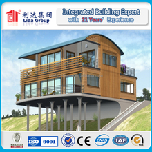 High Quality Light Steel Modular Real Estate Houses in Canada